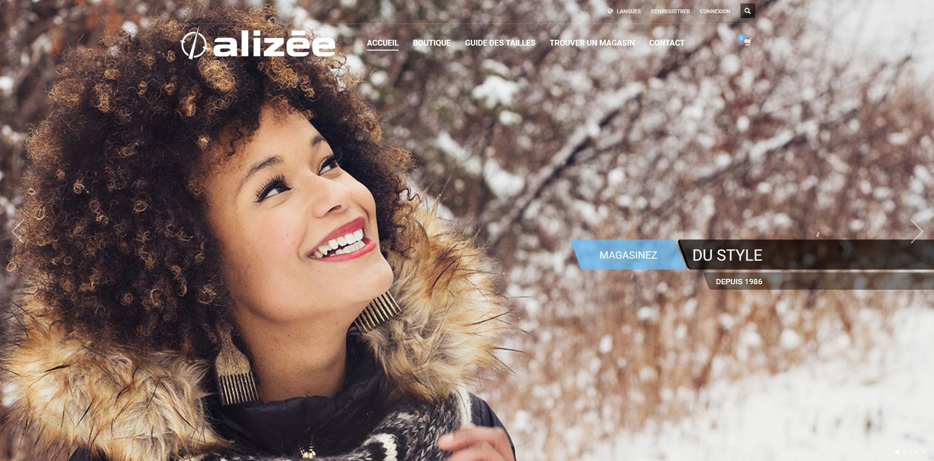 Ecommerce First | Projet Alize.ca