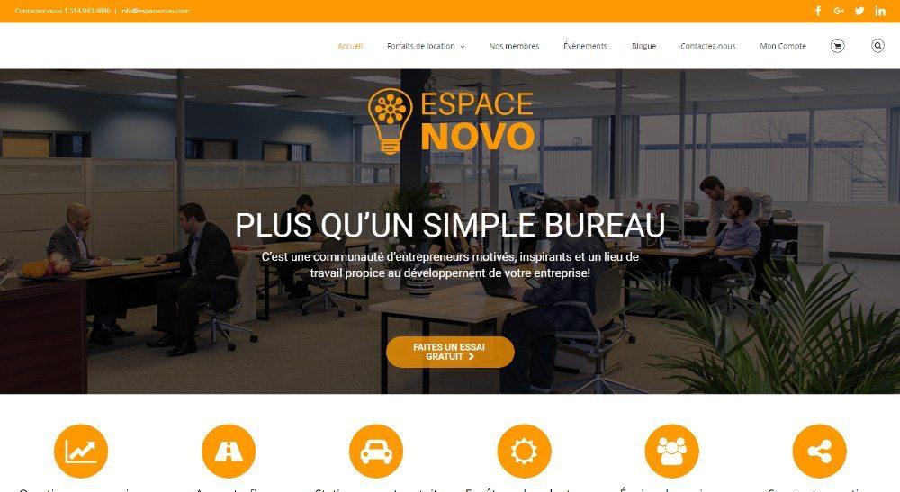 Ecommerce First | Projet Espace Novo