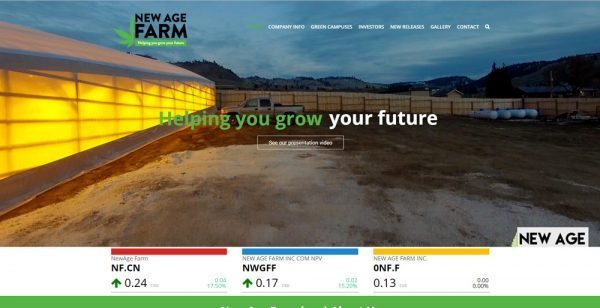 Ecommerce First | New Age farm inc.