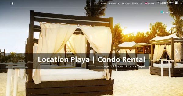 Locationplaya homepage